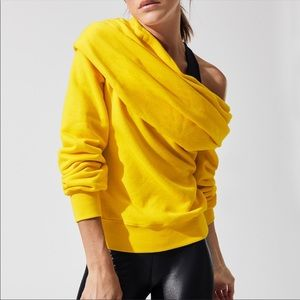 ISO Carbon38 off shoulder sweatshirt M L